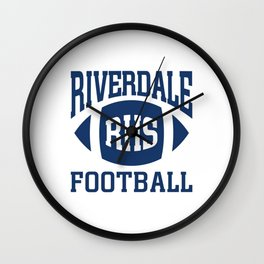 Riverdale - Football Team Wall Clock