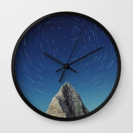 Erratic Rotation Wall Clock