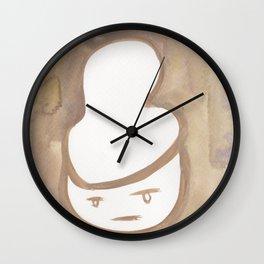 4  | Faces Watercolour 181216 | Err What Wall Clock