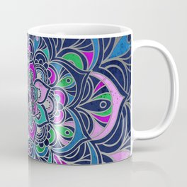 Colorful purple Coffee Mug