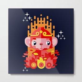 Fire Monkey Year Metal Print
