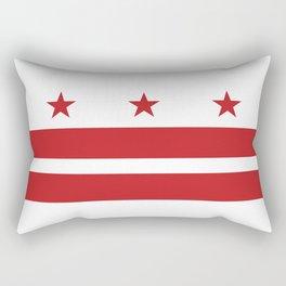 Washington, D.C. Flag Rectangular Pillow