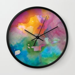 Joy Scape #1 Wall Clock