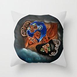 Gemini Twins  Throw Pillow