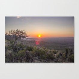 Sunrise on Elam Canvas Print