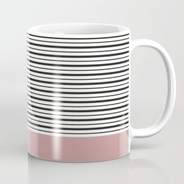 SAILOR STRIPES WITH PINK Coffee Mug