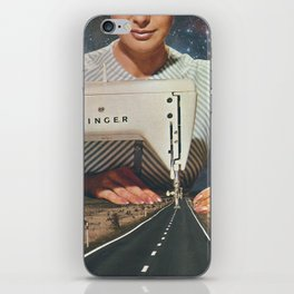 This is how a road gets made iPhone Skin