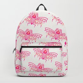 Death's Head Hawkmoth – Pink Ombré Palette Backpack