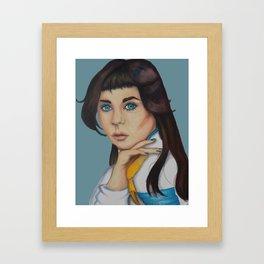 Ask Not the Sparrow Framed Art Print