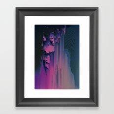 Pink Fringe Framed Art Print