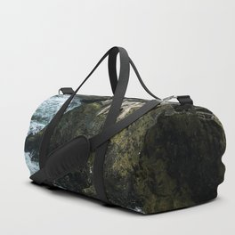 Castle ruin by the irish sea - Landscape Photography Duffle Bag