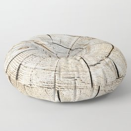 Wood Cut Floor Pillow