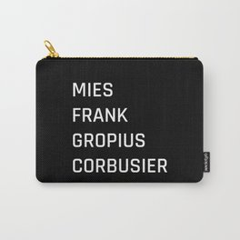 Modern Architecture (Black) Carry-All Pouch