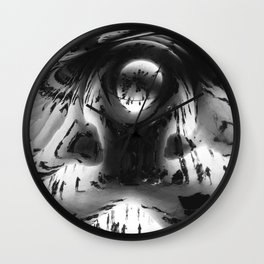 Young as the morning, old as the sea. Wall Clock