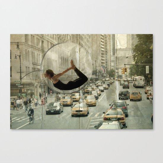 bow city traffic Canvas Print