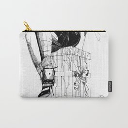 Lady and the Gift. Carry-All Pouch