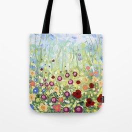 Blooms & Kisses Tote Bag