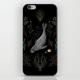 Seal, Shells and Sea Thrift iPhone Skin