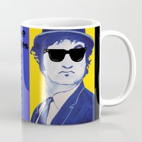 snl Mugs featuring Jake Blues 1 by Kramcox