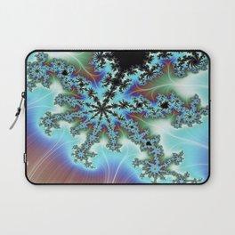 Blue Crab Fractal Laptop Sleeve
