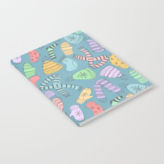 Winter pattern Notebook