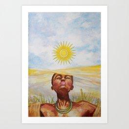 """""""Rwanda"""" Art Print"""