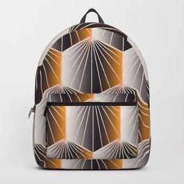 Glam Rock Peach Backpack