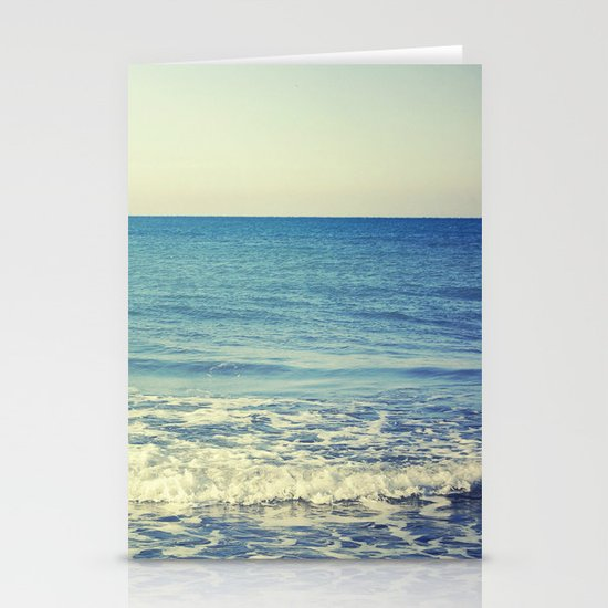 in the arms of the Ocean Stationery Cards