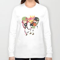 roller derby Long Sleeve T-shirts featuring It's Roller Derby, sweetie! by Irene Dose