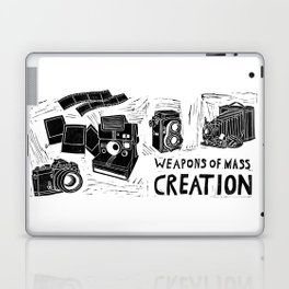Weapons Of Mass Creation - Photography (blockprint) Laptop & iPad Skin
