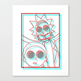 i'M TRiPPY RiCK! Canvas Print
