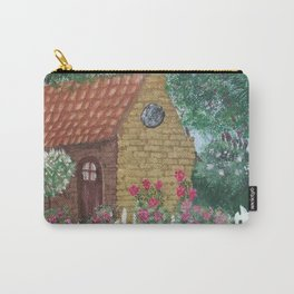 A Cozy Cottage Carry-All Pouch