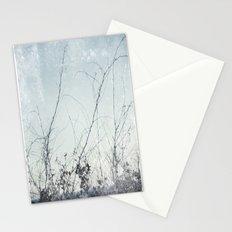 sea plants (light blue) Stationery Cards