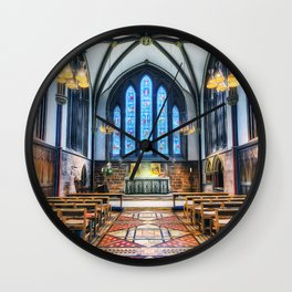 Cathedral Glow Wall Clock