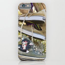Poison shoes iPhone Case