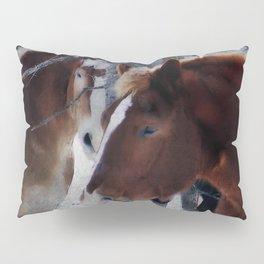 Mackinaw Island Horses Pillow Sham