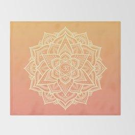 Sun Mandala Throw Blanket