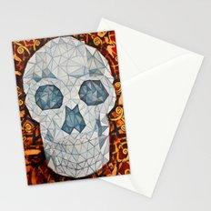 Galvanized Skull Stationery Cards