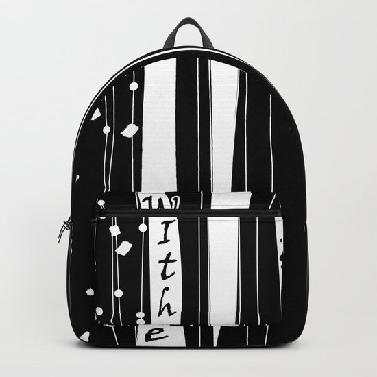 With love . Backpack