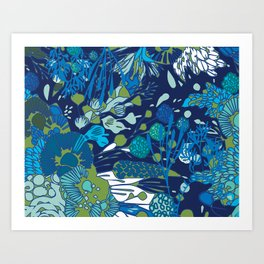 WATER YOU TALKING ABOUT? Art Print
