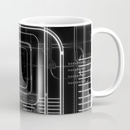 Xray 3D Illustration Coffee Mug