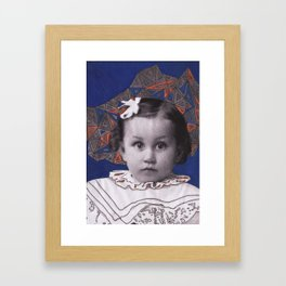 No Name Girl - Katrina Niswander Framed Art Print