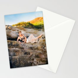 La Jolla Beach Model, with Expression Unlimited Photography Stationery Cards