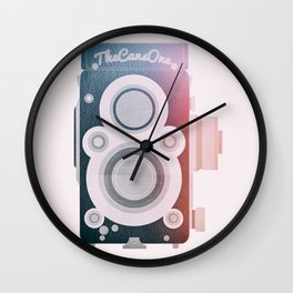 Twin Lens Reflex Camera _ Photography Addicted Wall Clock
