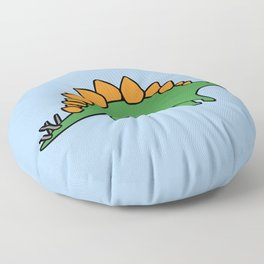 Cute Stegosaurus Floor Pillow