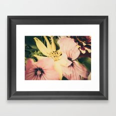 Flower bouquet... Framed Art Print