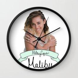Miley #8 Wall Clock