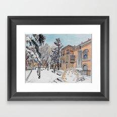 Spanish Palace Framed Art Print