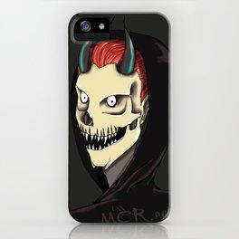 Demon's smile iPhone Case
