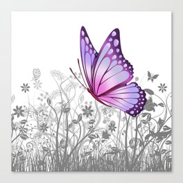 Fantasy Butterfly #8 Canvas Print